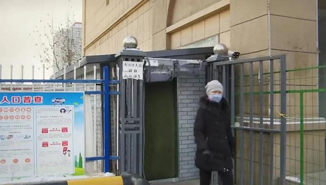 新疆64团新建测温通道投入使用人体红外线成像测温仪
