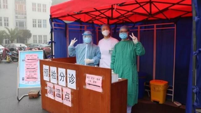 扬州洪泉医院引进红外线成像人体测温仪打造技防人防双重保障