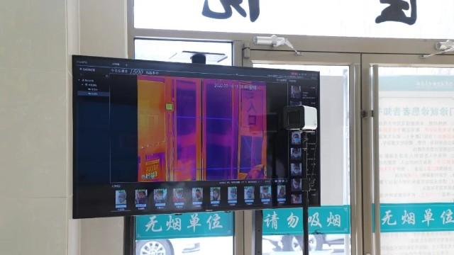 人脸识别测温仪1秒快速筛查体温,全程自动不接触