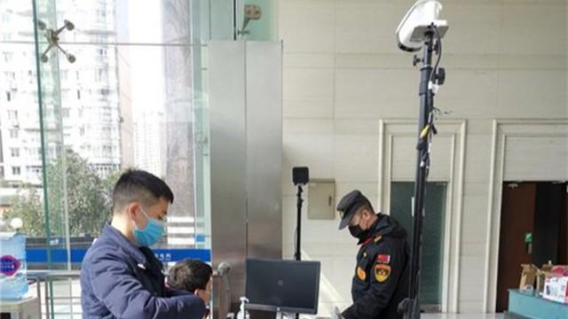 人体红外测温仪解决大流量人员测温难题