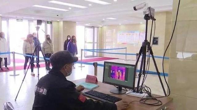 四川文理学院引入通过式体温监测系统做好学校疫情防控工作