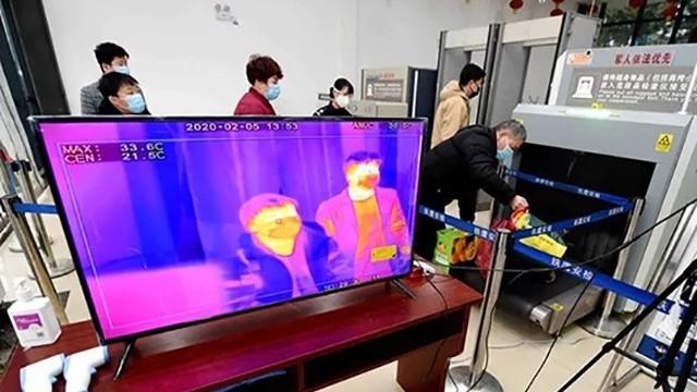 洛阳火车站进站口安装红外热成像测温仪应对防疫客流高峰期