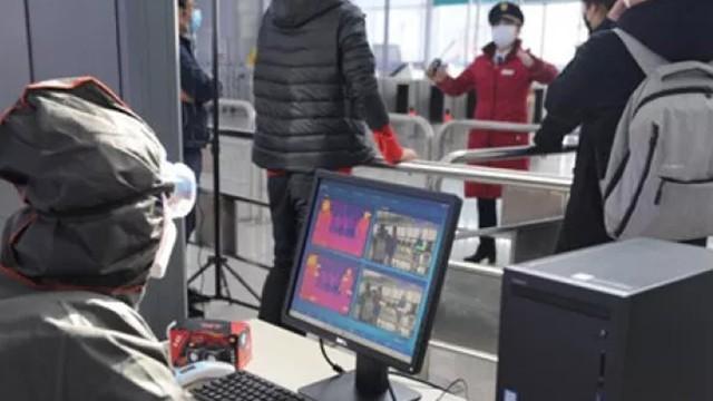 AI智能热成像测温系统