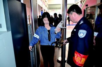 客运站安检门