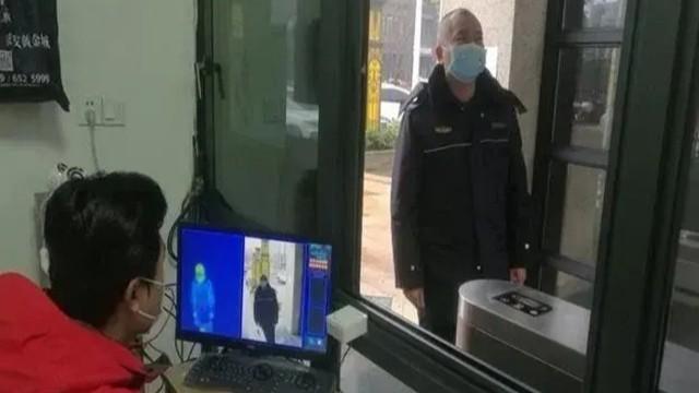 热成像测温仪快速筛查超温人员有效保障疫情管控