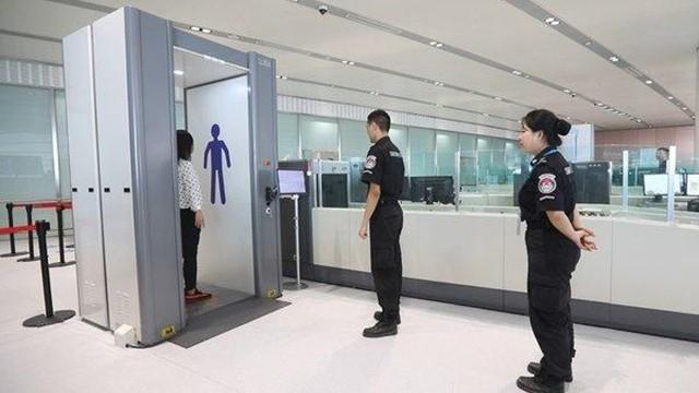 毫米波人体成像安检设备