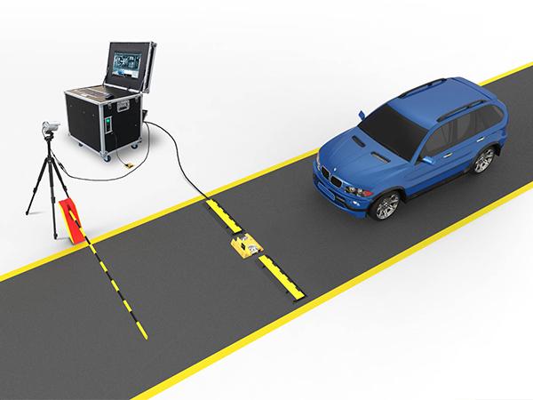 探天下移动式车底安全检查系统