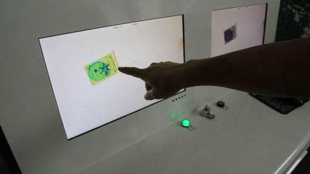 X射线安检机识图