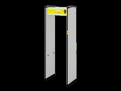 全自动红外热成像测温安检门