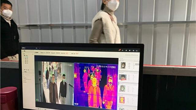 热成像人体测温仪系统