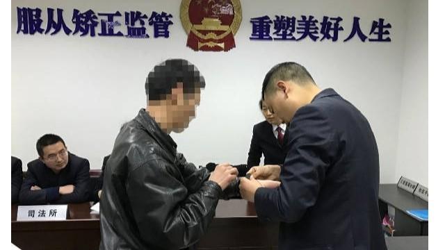 社区服刑人员电子手环