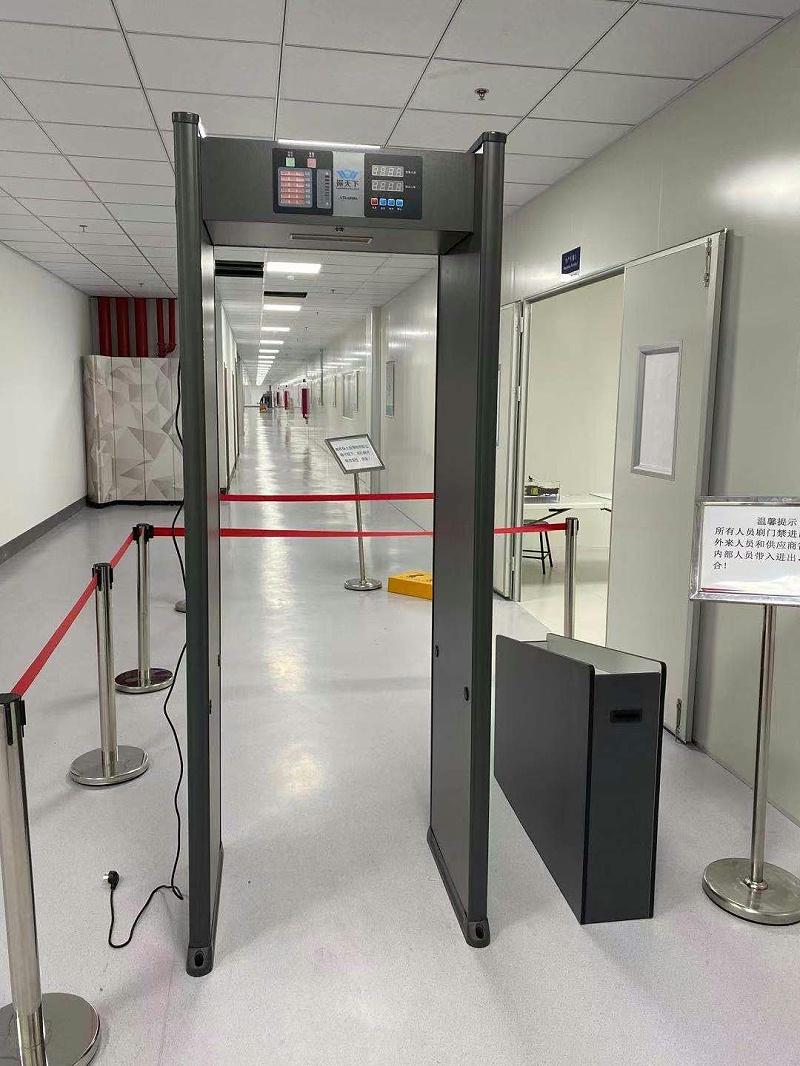 电子厂防盗安检门
