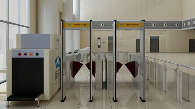 多能量彩色车站行李安检机让违禁品无处藏身