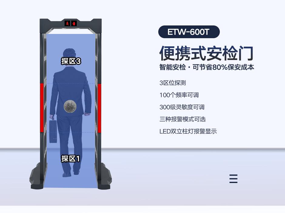 便携式安检门