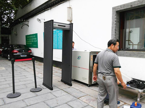 南京宗教局X光安检机案例