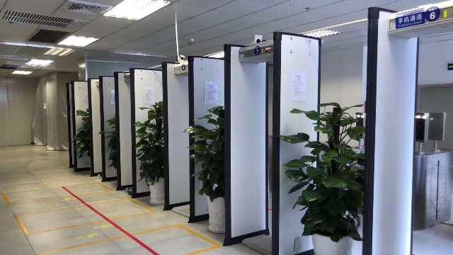 电子产品防偷安检门在工厂中的应用