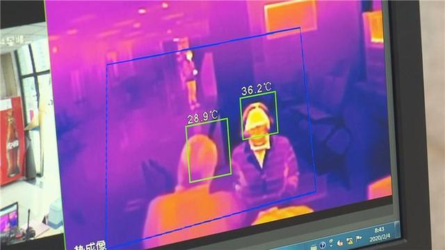 红外热成像测温安检门