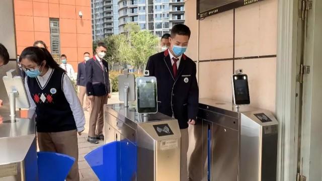 AI人脸识别测温一体机
