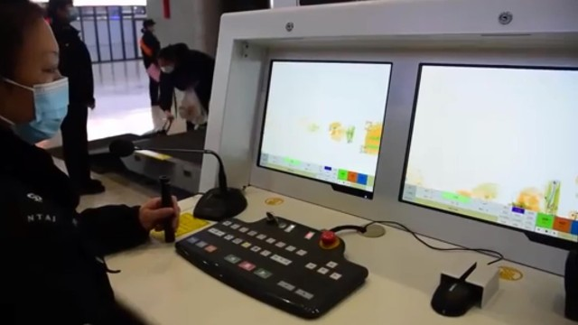 智能识别X光安检机自动识别危险品,安检通行效率提升21%