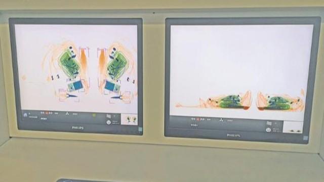 双源双视角安检机360度无死角检测,提高安检准确率和乘客通行效率