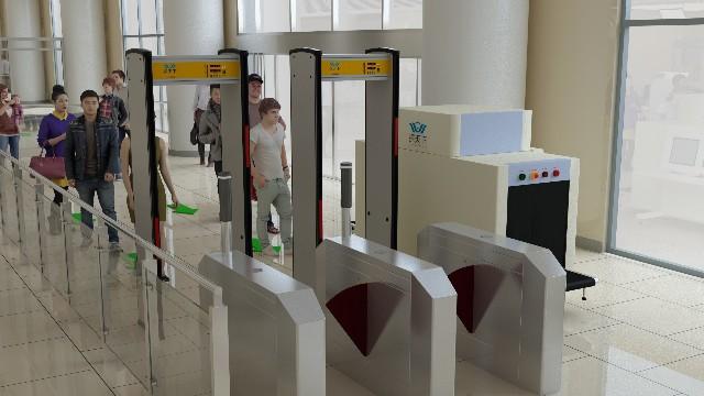 车站X光安检机