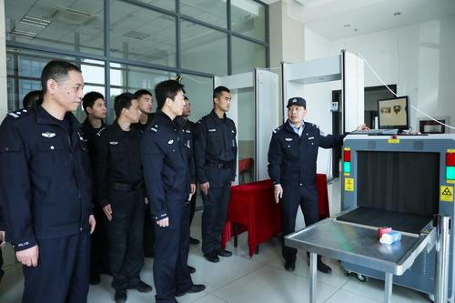 公安局安检门