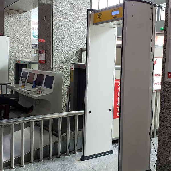 车站金属探测安检门