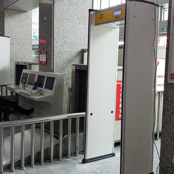 火车站金属探测安检门
