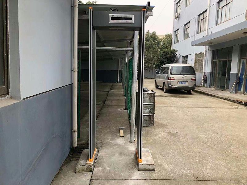 室外防雨金属探测门