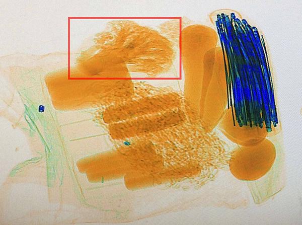 X光机图像识别
